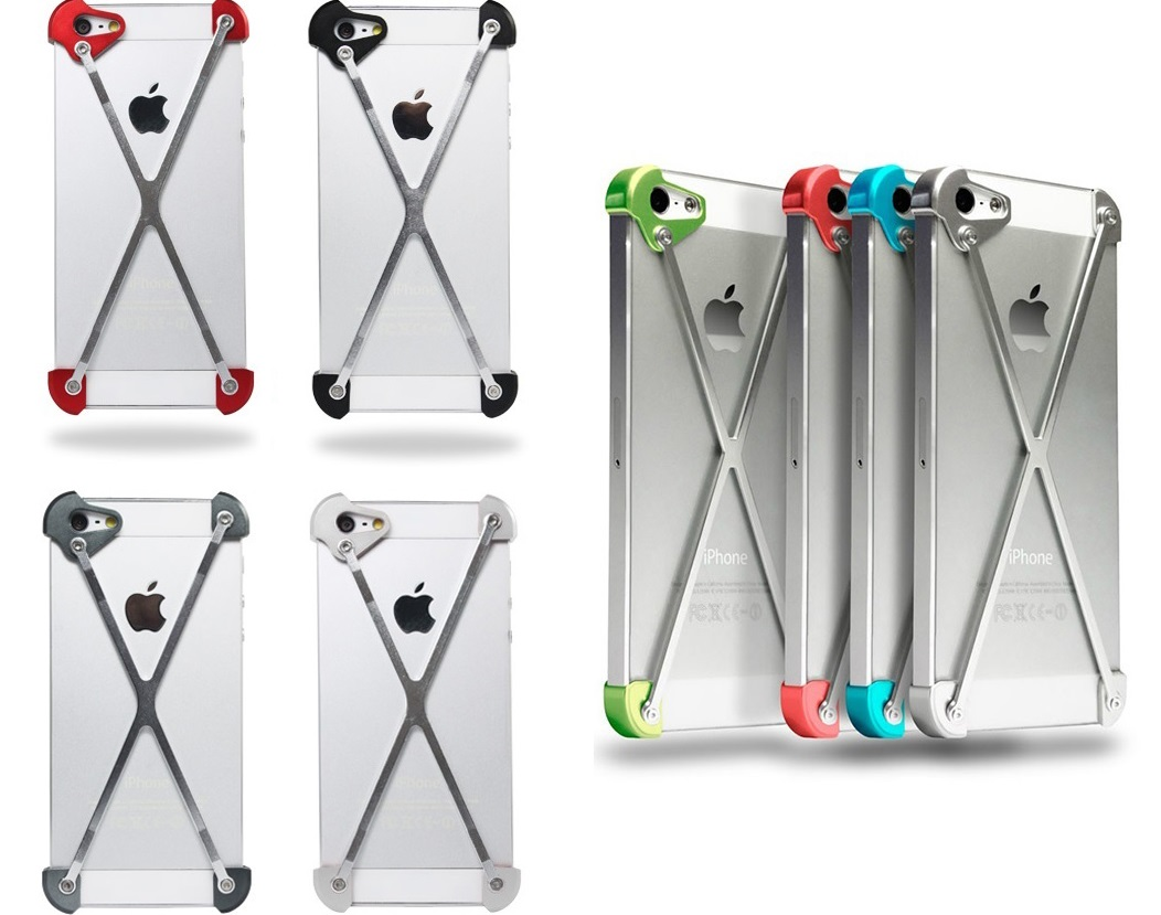 iPhone White metal cases
