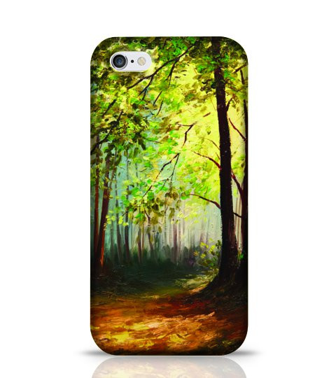 oil painting mobile back cover