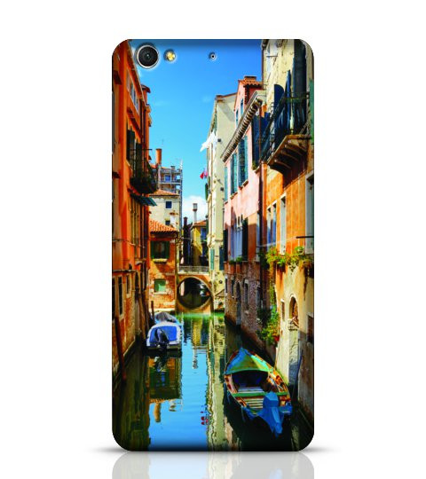 The Rio Di San Cassiano Canal Venice phone case