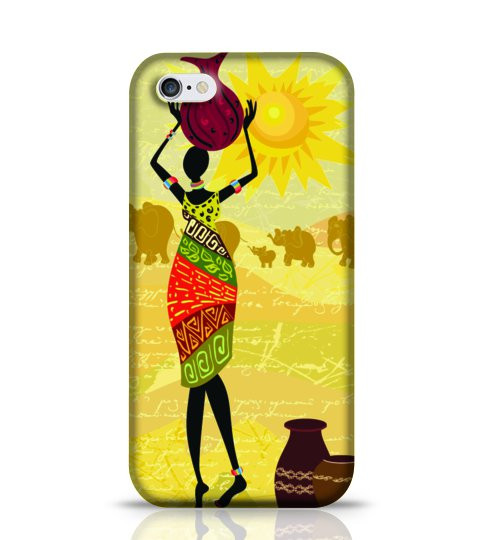 tribal lady mobile case