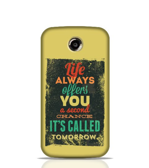 Inspirational mobile back cover