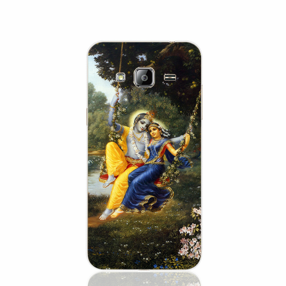 lord krishna radha mobile case