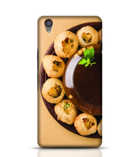 Pani Puri mobile back cover