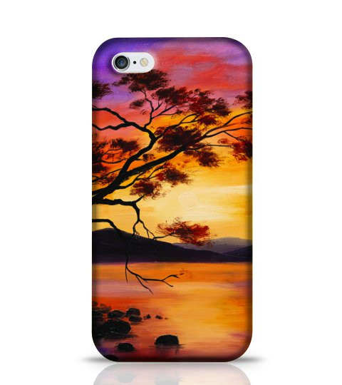 oil painting phone case