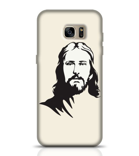 Jesus Christ mobile back cover