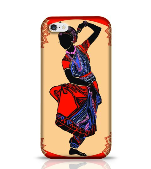 indian women traditional dance mobile case