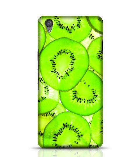 Green Kiwi mobile cover