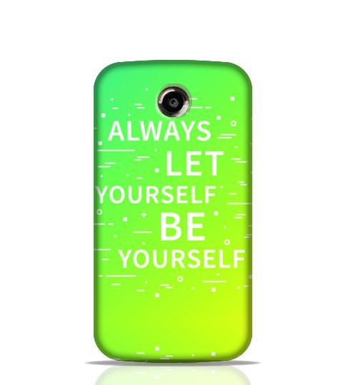 inspirational quotes mobile back cover