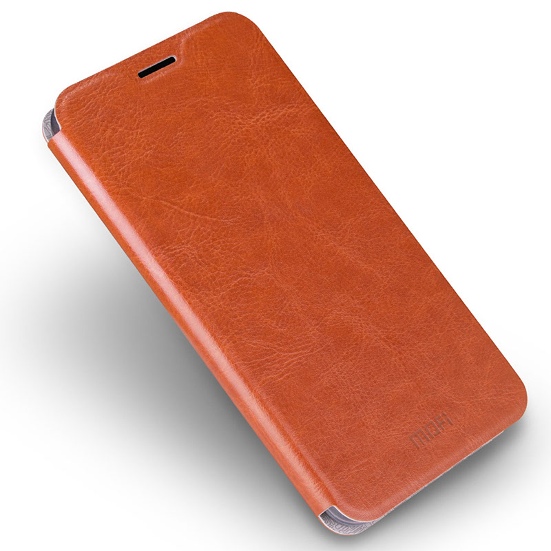 Aimak Leather Flip Case
