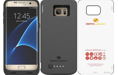 Top Five Battery Cases for Samsung Galaxy S7 Edge