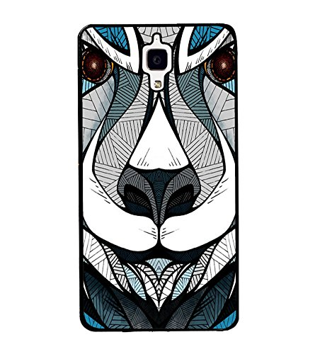 tiger face art mobile phone cover