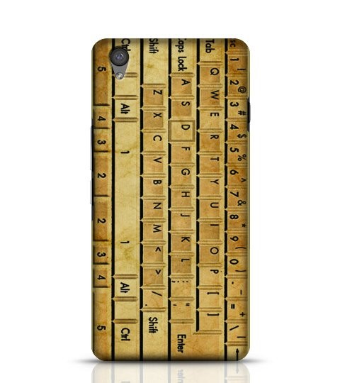 Vintage Keyboard phone cover