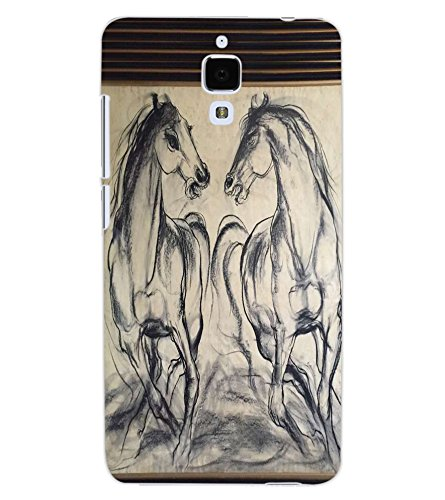 horses sketch phone case