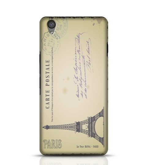 Vintage Paris Postcard phone case