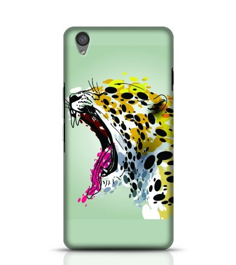 Roaring jaguar phone case