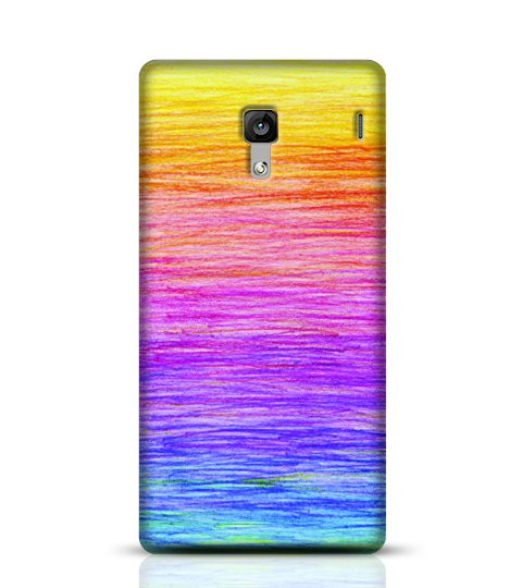 pencil rainbow mobile case