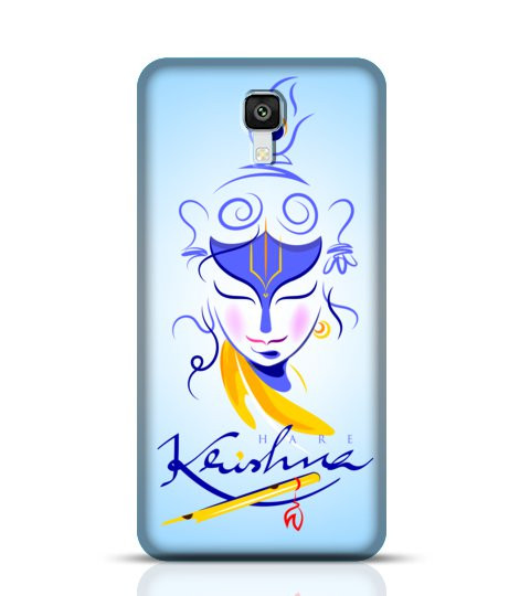 lord krishna mobile back cover