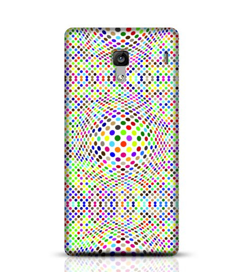 sphere dotted mobile case