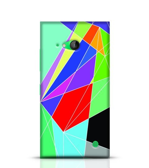 colourful abstract case
