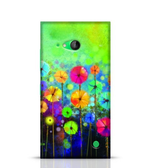 floral watercolour phone case