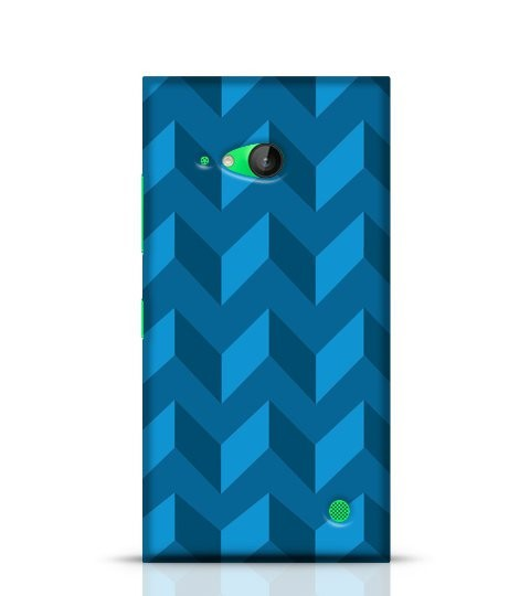 abstract blue phone cover