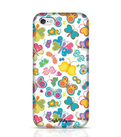 3 Butterflies Mobile Phone Case