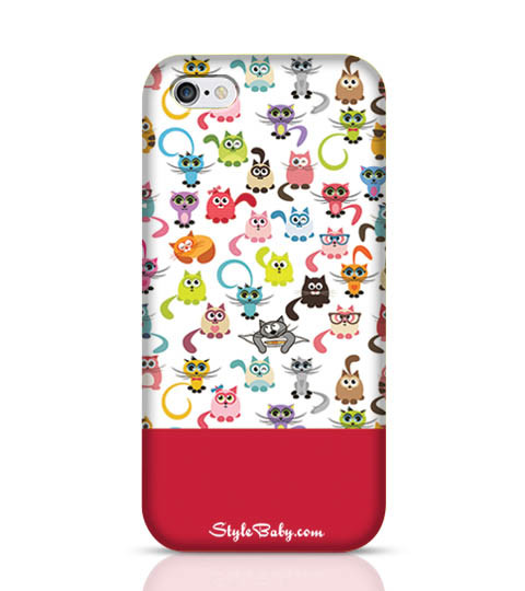 5 Cats Mobile Phone Case