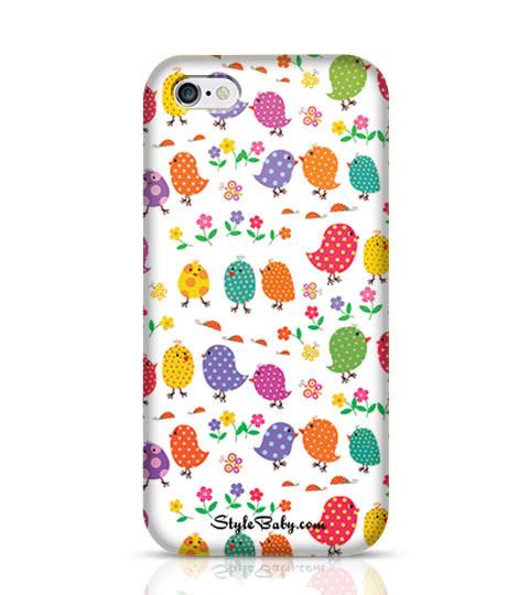 7 Colourful Birds Phone Case