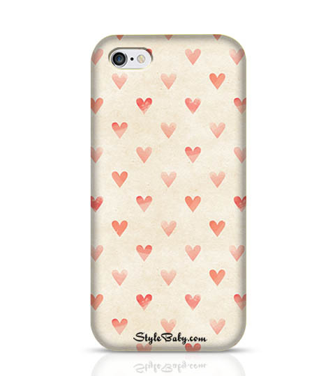 9 Sand Hearts Mobile Phone Case